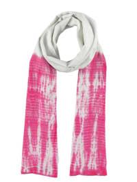 "Tamaris Schal ""Linda"" in pink/ weiß - 60 x 180 cm"