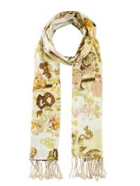 """Tamaris Schal """"Rose"""" in creme/ beige/ braun - 76 x 183 cm"""