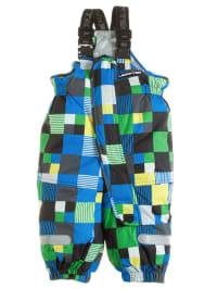 """Legowear Skihose """"Pia"""" in Blau/ Gelb/ Grün"""