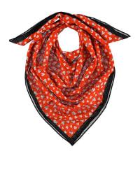 Mexx Tuch in Rot/ Weiß/ Schwarz - (B)120 x (L)120 cm