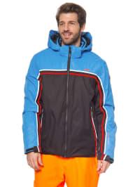 CMP Ski-/ Snowboardjacke in Schwarz/ Blau