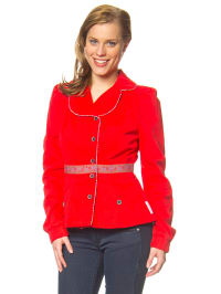 "Blutsgeschwister Jacke ""Home Maid"" in Rot"