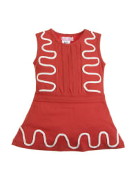 Lofff Kleid in rot/ weiß