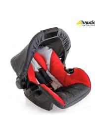 """Hauck Babyschale/ Autositz """"Zero Plus"""" in Grau/ Rot"""