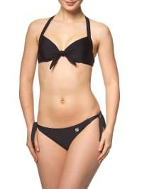 SHIWI Push-up-Bikini in schwarz