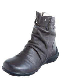 Primigi Leder-Boots in Grau