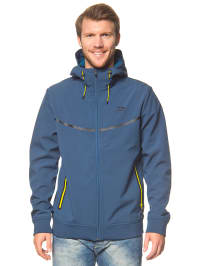 Jack & Jones Softshelljacke in Blau