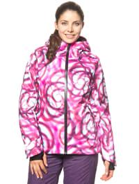 """Völkl Ski-/ Snowboardjacke """"Manu 3D"""" in Pink/ Weiß"""