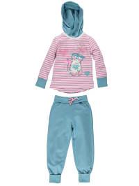 Gelati 2tlg. Outfit in Türkis/ Rosa