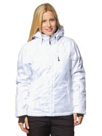 Maier Sports Ski-/ Snowboardjacke in Weiß