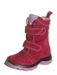 Naturino Leder-Stiefel in rot