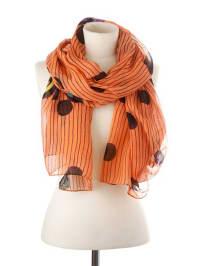Codello Schal in Orange - (B)70 x (L)190 cm