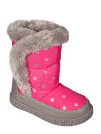 "Trespass Winterstiefel ""Tigan"" in Grau/ Pink"