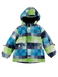 """Legowear Skijacke """"Joe 603"""" in Blau/ Dunkelblau/ Grün"""