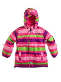 "Legowear Skijacke ""Jade 604"" in Pink/ Lila/ Grün"