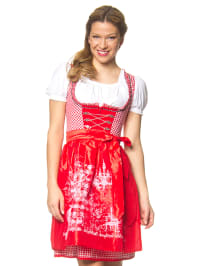 "Stockerpoint Mini-Dirndl ""Hope"" in Rot/ Weiß"