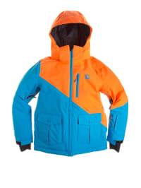 "Völkl Ski-/ Snowboardjacke ""Hero"" in Hellblau/ Orange"