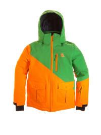 """Völkl Ski-/ Snowboardjacke """"Hero"""" in Orange/ Grün"""