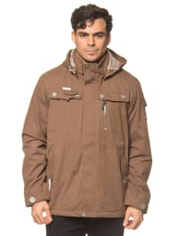 "Killtec Funktionsjacke ""Alejandro"" in Braun"