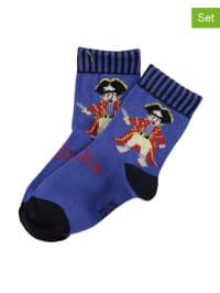 Ewers 2er-Set: Socken in Blau