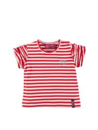 ZieZoo Shirt in Rot/ Weiß