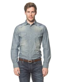 Jack & Jones Jeanshemd in Blau