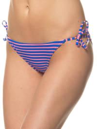 "Brunotti Bikini-Slip ""Serya"" in Blau/ Pink"