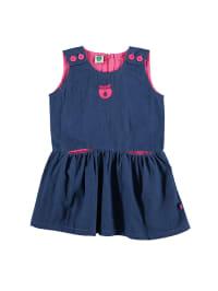 Småfolk Kleid in Blau/ Pink