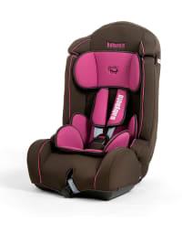 "Babyauto Kinderautositz ""Kulixka"" in Dunkelbraun/ Pink"