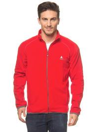 "Peak Mountain Fleecejacke ""Cafone"" in Rot"