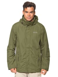 "Regatta Regenjacke ""Matt"" in Khaki"