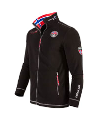 "Nebulus Fleecejacke ""Explore"" in Schwarz"