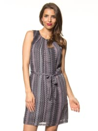 More & More Kleid in Grau/ Rosa
