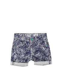 """Retour Shorts """"Allessandro"""" in Blau/ Weiß"""