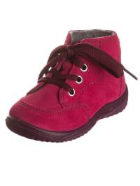 Richter Shoes Leder-Sneakers in Fuchsia