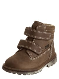 Richter Shoes Leder-Boots in Braun