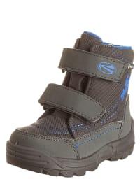 Richter Shoes Boots in Grau/ Hellblau