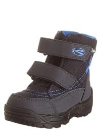 Richter Shoes Boots in Dunkelblau/ Hellblau