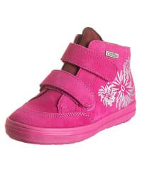 Richter Shoes Leder-Sneakers in Pink