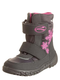 Richter Shoes Boots in Grau/ Pink