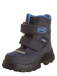 Richter Shoes Boots in Dunkelblau/ Blau