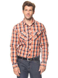 Longboard Hemd in Orange
