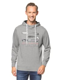 "Jack & Jones Kapuzenpullover ""Vivid"" in Grau"