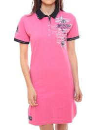 "Geographical Norway Kleid ""Kaxa"" in Pink"