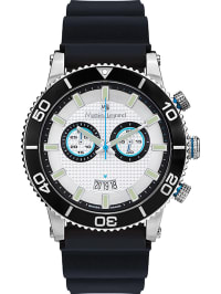 Mathieu Legrand Chronograph in Schwarz/ Silber