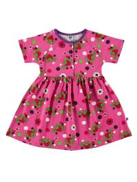Småfolk Kleid in Pink/ Rot