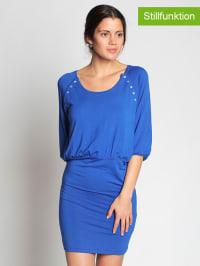 "Milker Kleid ""Zuzan"" in Blau"