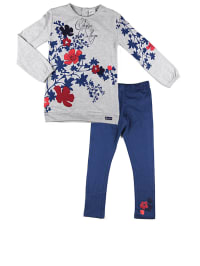 """What´s up Kids 2tlg. Outfit """"Classic College"""" in Hellgrau/ Blau/ Rot"""