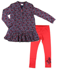 """What´s up Kids 2tlg. Outfit """"Classic College"""" in Blau/ Rot"""