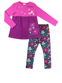 """What´s up Kids 2tlg. Outfit """"Sakura"""" in Pink/ Lila/ Bunt"""